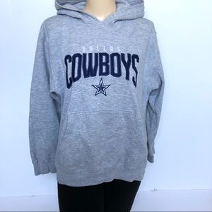 DALLAS COWBOYS EMBROIDERED HOODIE